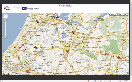 MBO Raad: Google Maps Mashup