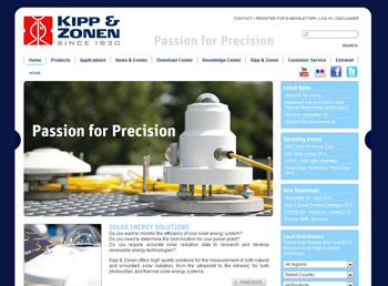Kipp & Zonen Corporate Site