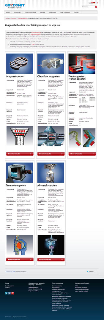 goudsmit magnetics website