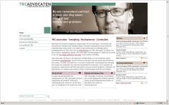 intranet trcadvocaten integrace sitemanager project