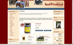 webshop justwestern integrace sitemanager project